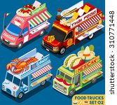 Food Truck Collection. Food...
