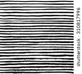 grungy hand drawn stripes. | Shutterstock .eps vector #310817996