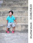 little asian boy | Shutterstock . vector #310825820