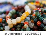 Colorful Beads Made Of Natural...