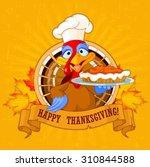 thanksgiving turkey serving...