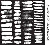 vector grunge brush strokes ...   Shutterstock .eps vector #310858919