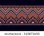 geometric ethnic pattern... | Shutterstock .eps vector #310872650