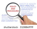 safety and health at workplace... | Shutterstock . vector #310886999