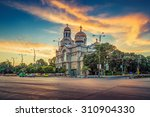 the cathedral of the assumption ...   Shutterstock . vector #310904330