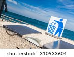 Keep Clean Sign Near The Sea