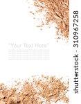 various foundation powder... | Shutterstock . vector #310967258