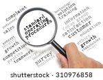 business concept  customer... | Shutterstock . vector #310976858