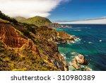 Pacific Ocean Coast  California ...