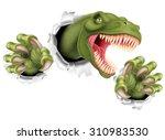 Постер, плакат: A T Rex Tyrannosaurus