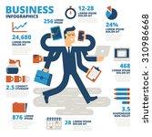 business infographics | Shutterstock .eps vector #310986668