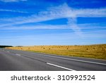 Countryside Landscape And Road