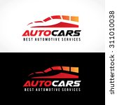 auto cars car logo speed... | Shutterstock .eps vector #311010038