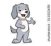 vector illustration of a funny  ...   Shutterstock .eps vector #311022650