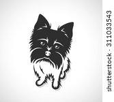 yorkshire terrier   vector... | Shutterstock .eps vector #311033543