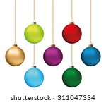 Set Of Festive Christmas...