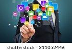 crm. | Shutterstock . vector #311052446