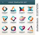 logo set logo collection idea... | Shutterstock .eps vector #311076554