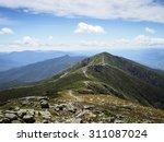 appalachian trail on sunny day  ... | Shutterstock . vector #311087024