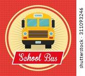 back to school digital design ...   Shutterstock .eps vector #311093246