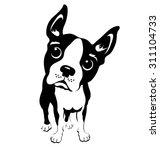 cartoon illustration of a... | Shutterstock .eps vector #311104733