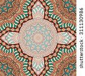 seamless pattern. vintage... | Shutterstock .eps vector #311130986