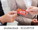 close up of businessperson... | Shutterstock . vector #311145719