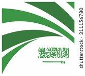 vector saudi arabia... | Shutterstock .eps vector #311156780