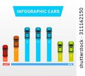 info graphic cars. marketing...   Shutterstock .eps vector #311162150