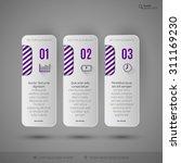 modern vector design elements... | Shutterstock .eps vector #311169230