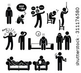 psychology psychiatric mental... | Shutterstock .eps vector #311176580
