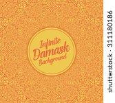 vector infinite damask... | Shutterstock .eps vector #311180186