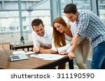 creative business partners... | Shutterstock . vector #311190590
