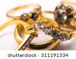 diamond ring | Shutterstock . vector #311191334
