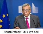 brussels  belgium   aug 27 ... | Shutterstock . vector #311195528