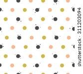 polka dot seamless pattern   Shutterstock .eps vector #311203094