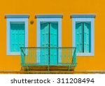 details from an old house in... | Shutterstock . vector #311208494