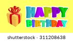 happy birthday greetings. gift