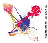 splash background | Shutterstock .eps vector #31123546