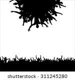 poster for sports championships ... | Shutterstock .eps vector #311245280