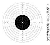 Blank Template For Sport Targe...