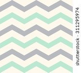 cute pastel stripes or chevron... | Shutterstock .eps vector #311295974