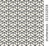 abstract geometric modern line... | Shutterstock .eps vector #311312018