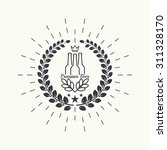 beer brewery emblems  logo ... | Shutterstock .eps vector #311328170