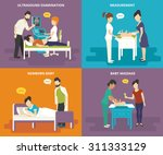 family healthcare collection.... | Shutterstock .eps vector #311333129