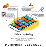 infographic template for mobile ...