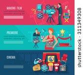 filmmaking and premiere... | Shutterstock .eps vector #311349308