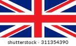 great britain  united kingdom... | Shutterstock .eps vector #311354390