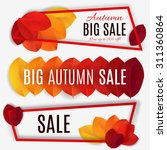 Big Autumn Sale. Fall Sale...