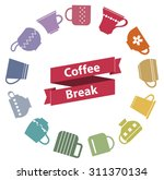 """red origami ribbon """"coffee... 